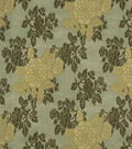 Home Decor 8\u0022x8\u0022 Fabric Swatch-Print Fabric Robert Allen Belle Crest Celadon
