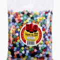 Giant 1Lb Multi Color Pony Beads-Stars