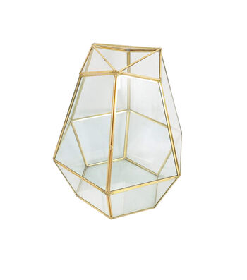 Save the Date Gold Table Terrarium