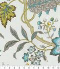 Waverly Sun N Shade Fabric 9\u0022x9\u0022 Swatch-Jacobean Flair Turquoise