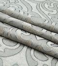 Lightweight Decor Fabric-Damask Pewter