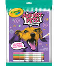 Crayola Pop Art Pets Coloring Set