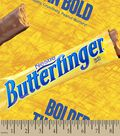 Nestle Butterfinger Print Fabric