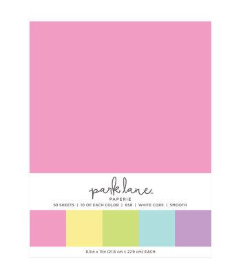 Park Lane 50 pk 8.5''x11'' Value Papers-Soft