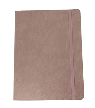 Park Lane Textured Softcover Journal-Pink
