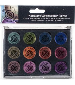 Cosmic Shimmer Watercolour Paint Pallet Set-Iridescent Antique Shades