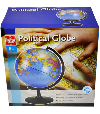 11-Inch Desktop Political Globe