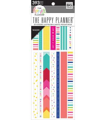 The Happy Planner Washi Sticker Book-Brights
