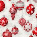 Christmas Cotton Fabric-Decorative Ornaments