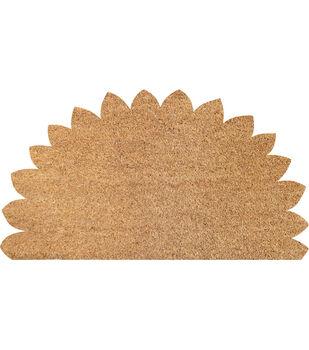 Simply Autumn Craft Sunflower Coir & Vinyl Mat
