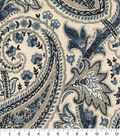 Home Decor 8\u0022x8\u0022 Fabric Swatch-Plumtree Paisley Ink