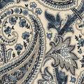 Home Decor 8\u0022x8\u0022 Fabric Swatch-Plumtree Paisley Ink