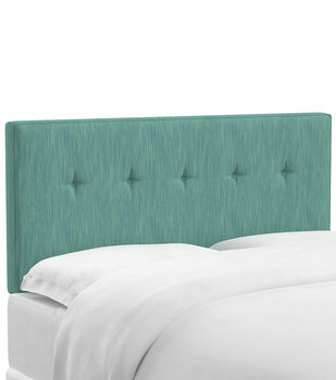 pottery c fabric montgomery products upholstered headboard barn