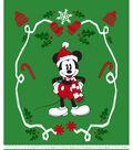 Disney No Sew Fleece Throw 72\u0022-Mickey Mouse Santa