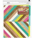 American Crafts Details Pack of 6 File Folder-Color Block