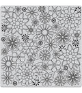 Hero Arts Florals Bold Prints Rubber Cling Stamp-Blossoms for Coloring