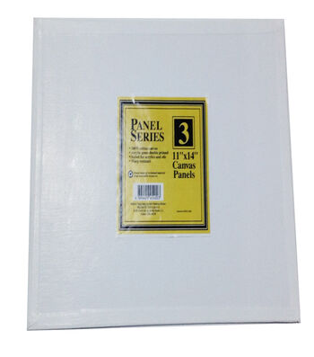 "Value Pack Canvas Panels-11""x14"" 3PK"