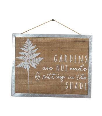 In the Garden Wall Decor-Gardens Shade