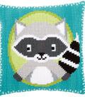 Vervaco 16\u0027\u0027x16\u0027\u0027 Cushion Cross Stitch Kit-Raccoon