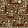 Sniff Woof\u0027s Up Print Fabric