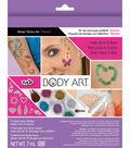Tulip Body Art Glitter Tattoo Kit-Vibrant