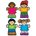 Kids Cut Outs Assorted 36/pk, Set of 6 Packs