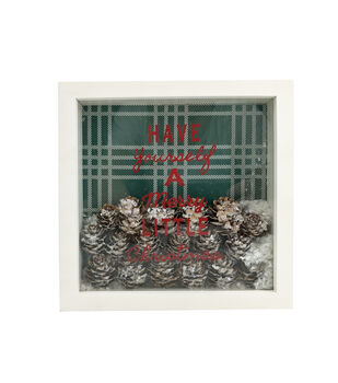 Handmade Holiday Christmas Shaker Block Tabletop Decor-Have Yourself