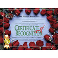Hayes Certificate of Recognition, 30 Per Pack, 6 Packs