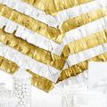 Cheer & Co. 16 pk 5\u0027\u0027x40\u0027\u0027 Party Backdrops-Gold