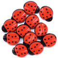 Favorite Findings Buttons-Ladybugs 11/pkg