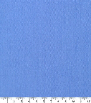 Specialty Cotton Poly/Cotton Blend Fabric-Powder Blue Daphne