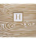 K&Company Woodgrain 12\u0022x12\u0022 Monogram Scrapbook