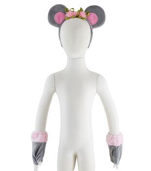 Maker's Halloween 3pc Child Costume Set-Mouse
