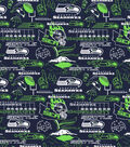 Seattle Seahawks Cotton Fabric-Hometown