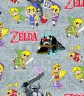 Zelda Cotton Fabric -Spirit Tracker