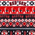 Boston Red Sox Fleece Fabric-Winter