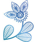 Ultimate Crafts Bohemian Bouquet Hotfoil Stamp-Traditional Floral