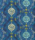 Waverly Lightweight Decor Fabric 54\u0022-Summer Rain/Cove