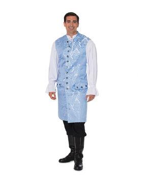 Yaya Han Cosplay Thrones Brocade Fabric -Sky Blue & Silver