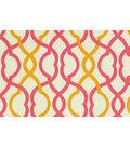 Home Decor Print Fabric- Waverly - Make Waves Sorbet