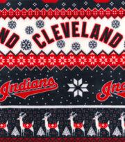 Cleveland Indians Fleece Fabric -Winter, , hi-res