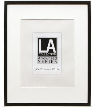LA Collection PVC Wall Frame 16X20-Black