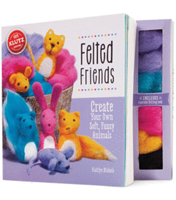 Klutz Felted Friends Book Kit