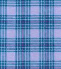 Snuggle Flannel Fabric -Hadley Plaid Lilac