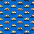 Denver Nuggets Cotton Fabric-Retro Logo