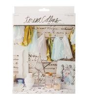 Teresa Collins Studio Gold Tissue Tassel Banner Kit-Tassel, , hi-res