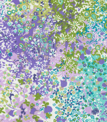"Home Essentials Decor Fabric 45""-Pitter Patter Violet"