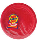 Amscan Big Party Pack 7\u0027\u0027 Lunch Paper Plates-60PK