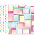 Pink Paislee Summer Lights Double-Sided Cardstock 12\u0022X12\u0022-#07