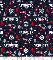 New England Patriots Christmas Flannel Fabric-Holiday, , hi-res